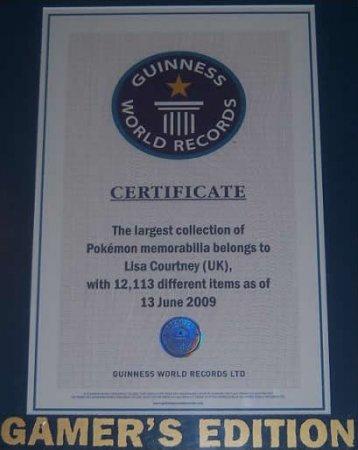 Крупнейшая в мире коллекция покемонов