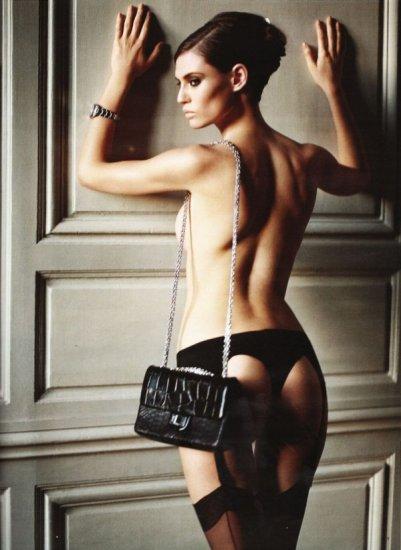 Bianca Balti для Vogue Germany... Фотограф Vincent Peters
