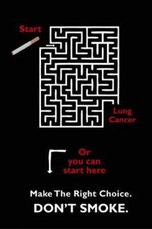 Очень креативная анти-табачная реклама. Стоп курению