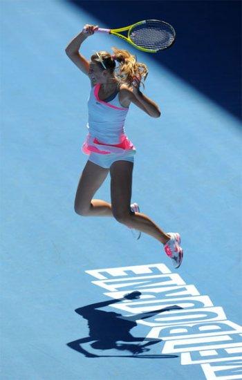 Australian Open 2010 - Women.Четвертьфинал.Виктория Азаренко проиграла Серене.