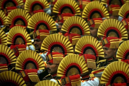 Военный парад в Индии