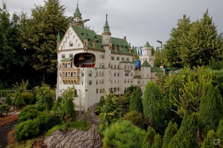 Развлекательный парк Леголенд в Германии