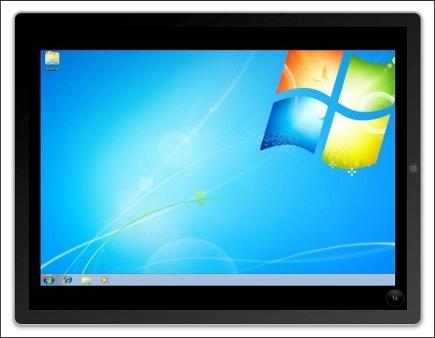 С Windows 7 можно будет работать на Apple iPad