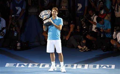 Федерер в четвертый раз в карьере выиграл Australian Open