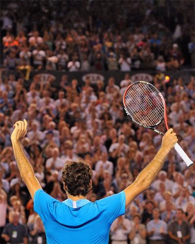 ������� � ��������� ��� � ������� ������� Australian Open