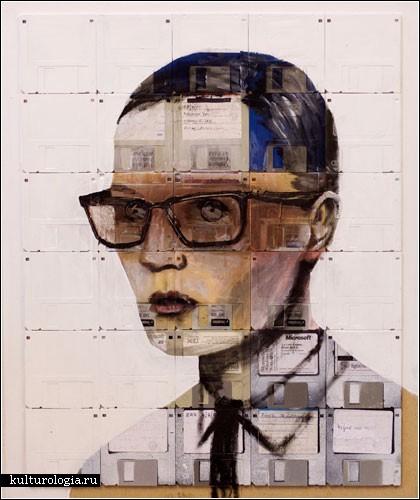Рисунки на дискетах от Ника Джентри
