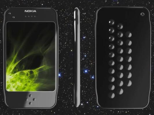 Концепт сенсорного телефона Nokia