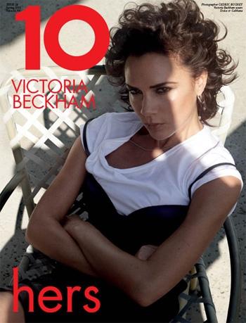 Бекхэмы снялись для нового номера журнала 10 Magazine