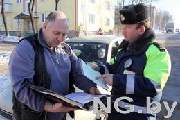 В январе сотрудники ГАИ задержали в Минске более 400 граждан, не имевших права управления транспортным средством
