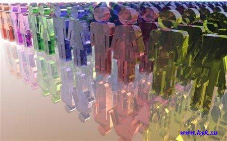 Гламурные изделия из стекла