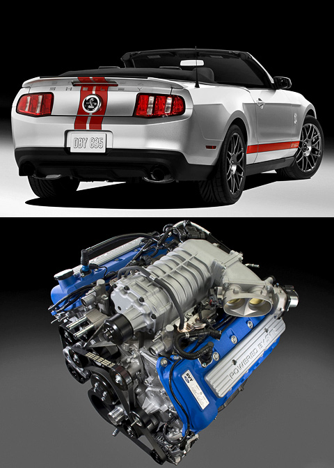 ���������� �������� Ford Shelby Mustang GT 500