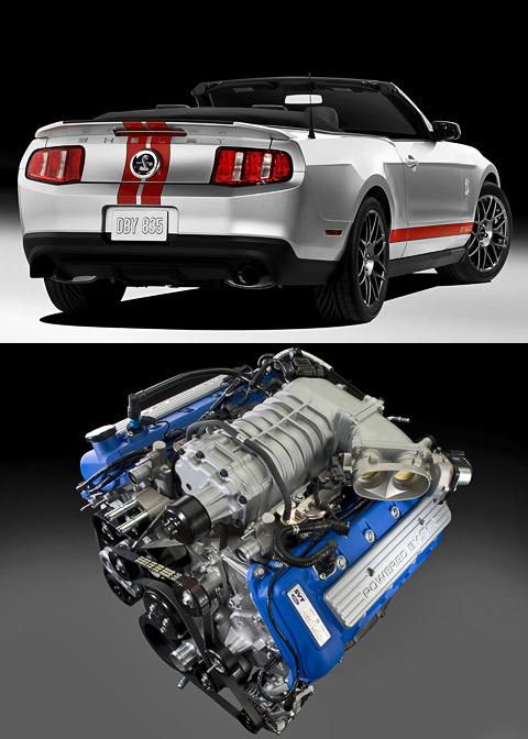Обновление окрылило Ford Shelby Mustang GT 500