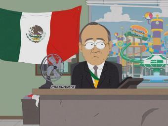 В Мексике запретили серию South Park с участием президента страны
