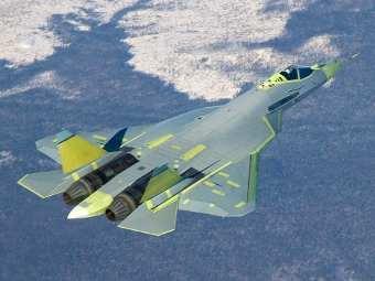 Российский истребитель пятого поколения снова поднялся в воздух