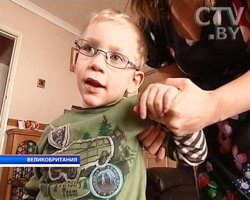 Утенок научил ходить 4-х летнего мальчика, которому врачи предрекали жизнь в инвалидном кресле