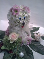 Зверушки из цветов