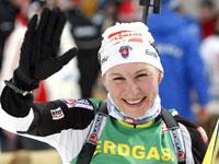 Анастасия Кузьмина сенсационно выиграла спринт