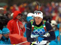 Биатлонист Винсен Жей сенсационно выиграл спринт