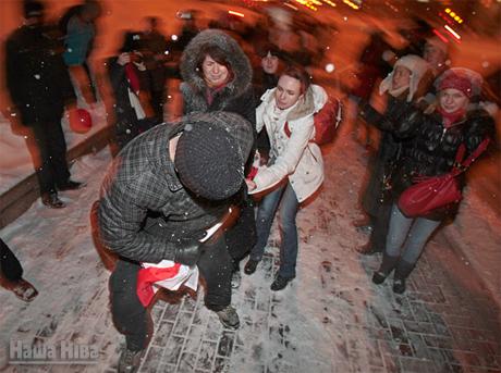 Белорусский спецназ «отметил» День святого Валентина