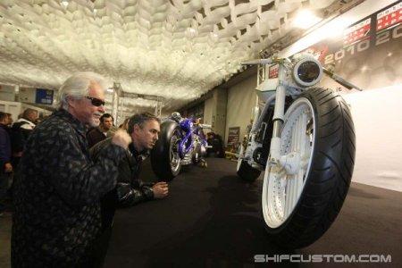 Новый мотоцикл мастерской Юрия Шифа Duster