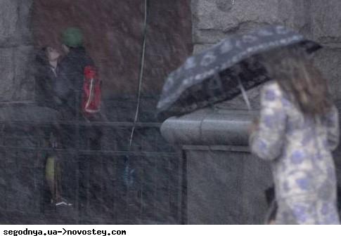 Беларусь ждет мокрый снег и дождь