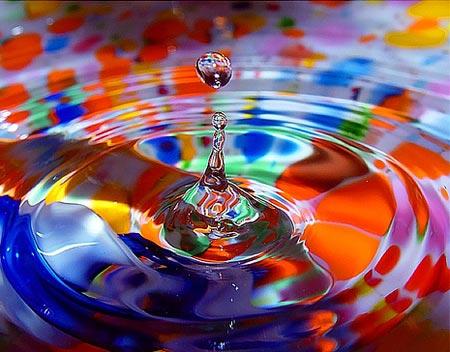 Обычная капелька воды