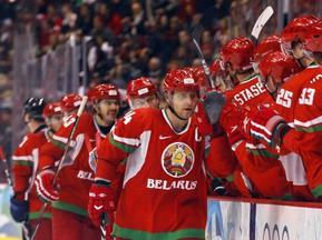 Хоккейная сборная Беларуси обыграла команду Германии