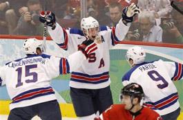 Ванкувер-2010. Хоккей: четвертьфиналисты и участники стыковых матчей определены