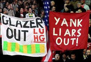 """Фанаты """"Манчестер Юнайтед"""" и """"Ливерпуля"""" проведут беспрецедентную акцию протеста против американских владельцев клубов"""
