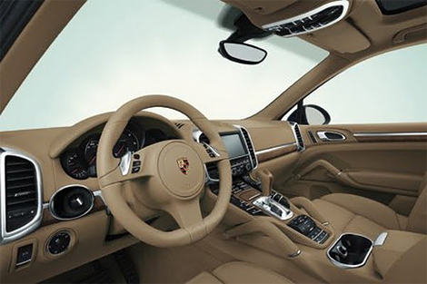 Новый Porsche Cayenne будет легче предшественника