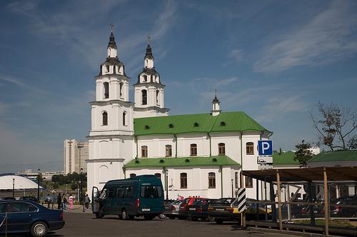 Поездка в Минск жителя Киева.