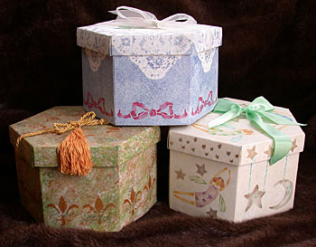 Декорируем коробки