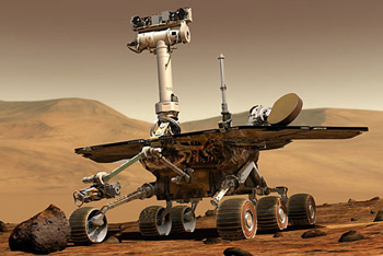 Марсоход Spirit займется исследованием орбиты Марса