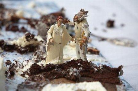 """Свадьба в стиле фильма """"Звездные воины"""""""