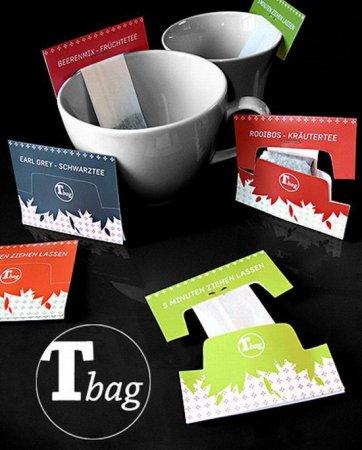 Оригинальные заварники и пакетики для чая