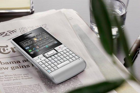 Sony Ericsson Aspen - коммуникатор с QWERTY клавиатурой и WM 6.5.3
