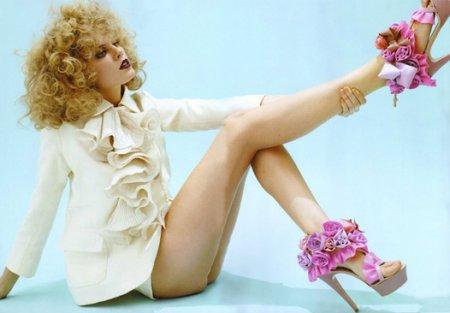Белорусская супермодель и обувь мечты