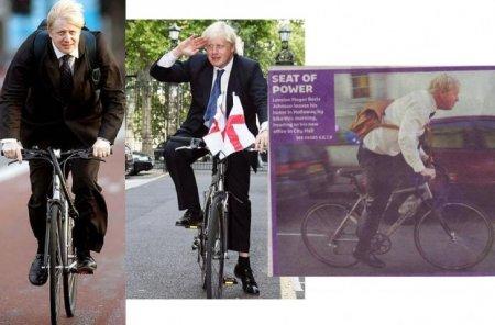 Знаменитости на велосипедах