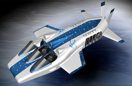 Глубоководный самолет от Virgin