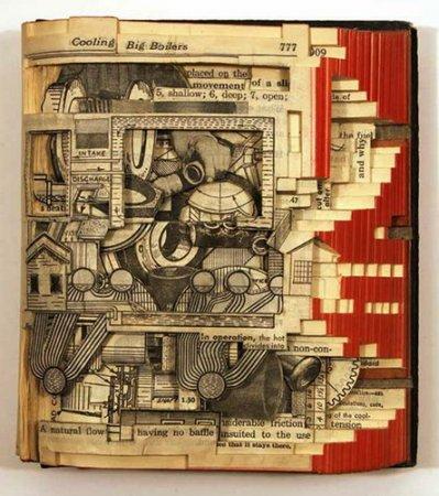 Резьба по книгам Брайана Деттмера