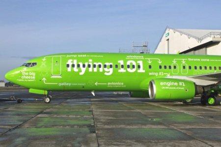 Самолет с подписями