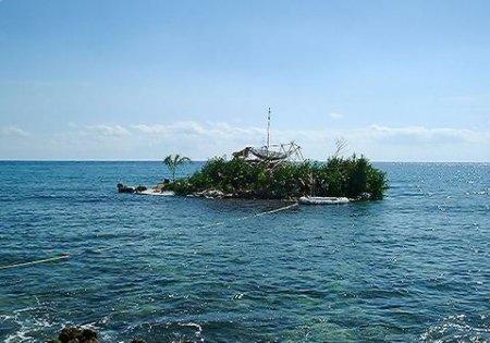 Остров из бутылок
