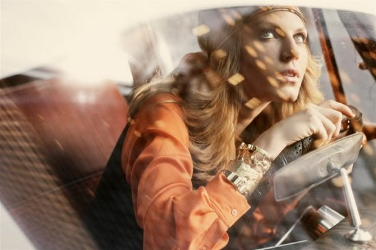Angela Lindvall by Regan Cameron