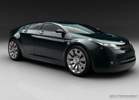 Новый концепт от ГАЗ - 5000 GL