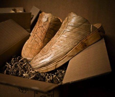 Деревянные кроссовки