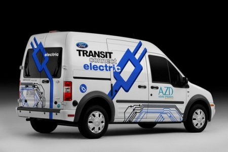 Ford Transit Connect Electric � ��� ������������� �������������