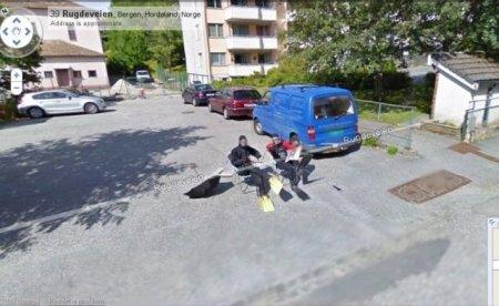 Норвежцы жгут на Google Street View