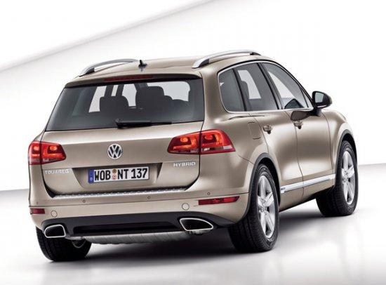 Новый Volkswagen Touareg. Официальные фото