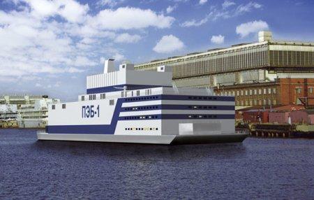В России будет построена первая в мире плавающая атомная электростанция