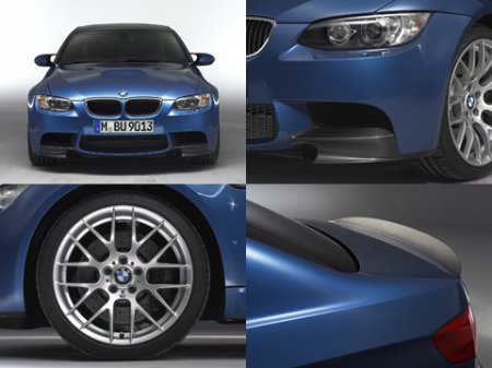 Фирма BMW обновила купе, кабриолет и седан М3